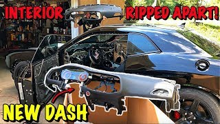 Rebuilding A Wrecked 2017 Dodge Hellcat Part 13