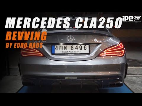 The iPE Exhaust for Mercedes-Benz CLA250