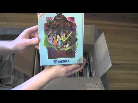 Unboxing The Motherload Of Old PC Games