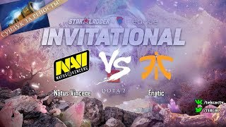[RU] Natus Vincere vs Fnatic | bo3 | StarLadder ImbaTV Invitational Season 5 by @Tekcac