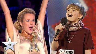 Ronan Parke brings Judges to their feet with 'Feelin' Good' | Britain's Got Talent