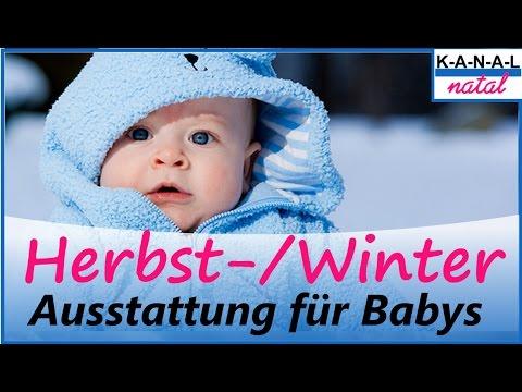 Babys im Herbst und Winter richtig anziehen - Hebammen Tipp