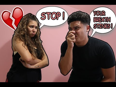 BEING MEAN TO MY GIRLFRIEND TO SEE HOW SHE WOULD REACT !!!