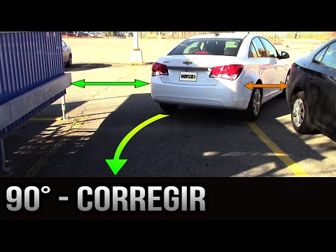 estacionamiento a 90 grados c  mo corregir