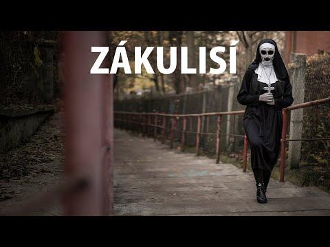 Jeptiška na hřbitově! - BTS - Diviška