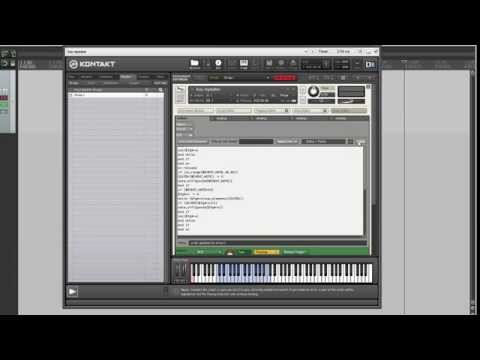 How to script a repetition key in Kontakt