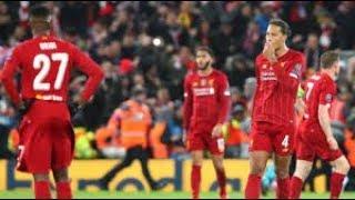 Mabingwa watetezi Liverpool wang'olewa Ligi ya Mabingwa Ulaya | ZILIZALA VIWANJANI