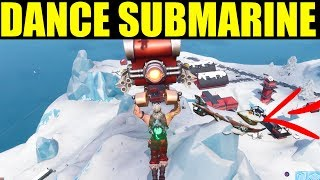 Dance On Top Of a Submarine Location Season 7 Week 1 Challenges Guide Fortnite Battle royale