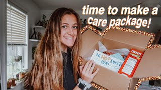 Sending My Long Distance Boyfriend A CARE PACKAGE!!
