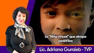 """La """"Niña virtual"""" que atrapa pedófilos - TVP"""