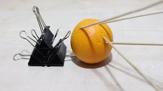 How To Make A Simple Binder Clips Gun That Shoots Bamboo Skewers