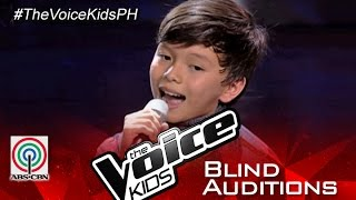 """The Voice Kids Philippines 2015 Blind Audition: """"Hey Soul Sister """" By Luke"""