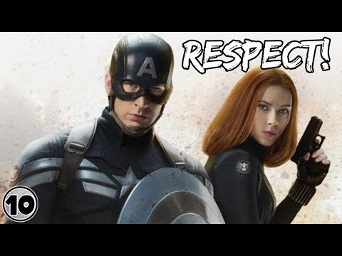 Top 10 Superheroes Captain America Respects