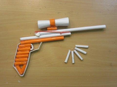 How to Make a Paper Sniper Rifle that Shoots - Easy Paper Gun Tutorials