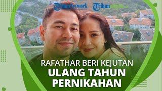 Rafathar Memberikan Kejutan Manis kepada Raffi Ahmad dan Nagita Slavina di Ulang Tahun Pernikahannya