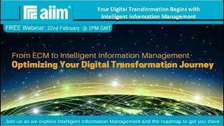 From ECM to Intelligent Information Management