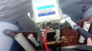 Suzuki DT8 + ГРУПЕР 330 (33 км\ч)