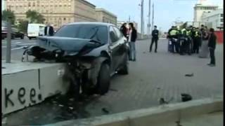 Мужик на BMW сбил байкера. Ужасная трагедия, ДТП, авария, 18+