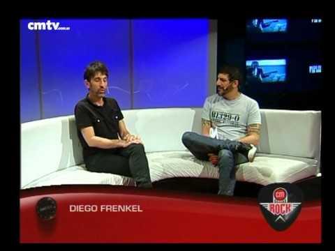 Diego Frenkel video Entrevista CM Rock - 09-10-2014
