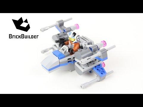 Vidéo LEGO Star Wars 75125 : Resistance X-Wing Fighter