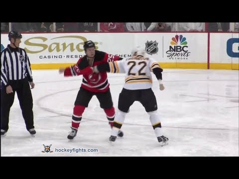 Shawn Thornton vs Cam Janssen