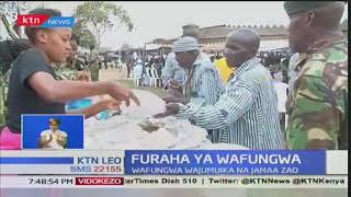 Furaha ya Wafungwa:Wafungwa wajumuika na familia katika kaunti ya Kajiado