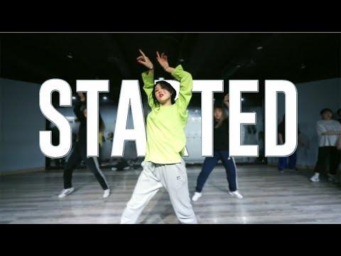 YELLZ CLASS | Iggy Azalea - Started  | E DANCE STUDIO | 이댄스학원 YELLZ CHOREOGRAPHY