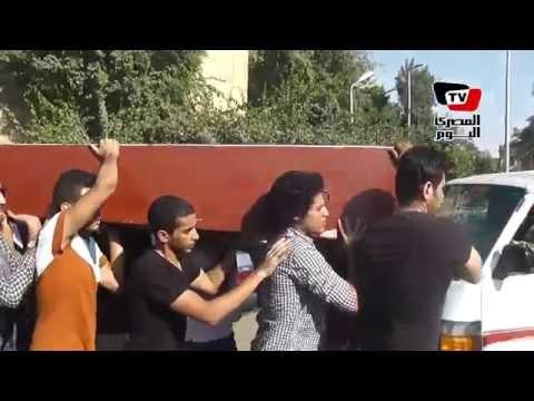 جنازة ممدوح فرج بطل المصارعة المصري