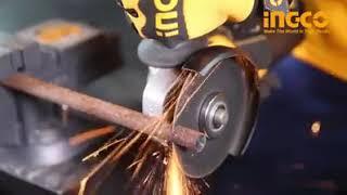 Угловая шлифовальная машина INGCO AG23508.2 от компании SKS-SHOP - интернет магазин ремонта и строительства в Республике Крым - видео 2