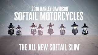 The All-New 2018 Harley-Davidson Softail Slim