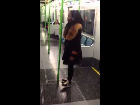 CEO Dancers Soliat's Impression of Man dancing on train