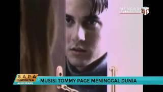 Musisi Tommy Page Meninggal Dunia