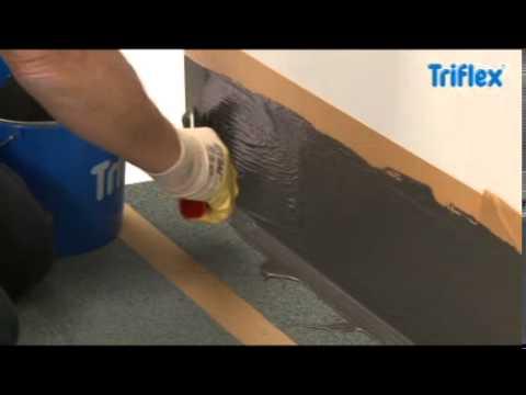 Triflex Detailabdichtung Ecken und Aufkantungen