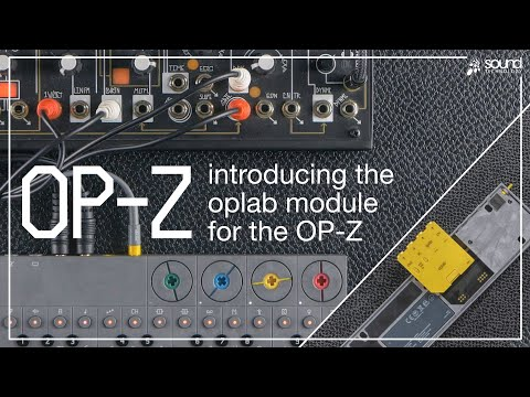 Introducing the Teenage Engineering oplab module for the OP-Z