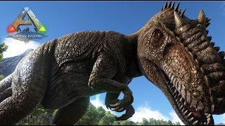 最強の肉食恐竜ギガノトサウルスを捕獲する!ARKゆっくり実況#29-リアルマインクラフト
