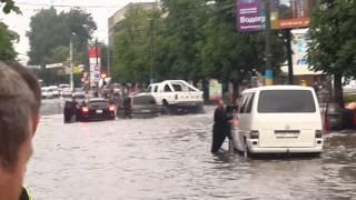Черновцы депот, дождик.(2)
