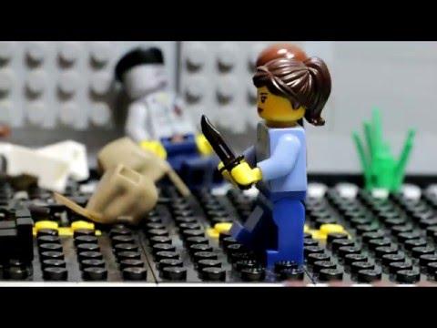Человеко-апокалипсис - Зомби-атака 4:  (лего мультик)