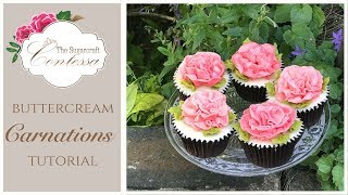 Buttercream Carnations