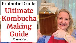 Beginners Guide To Kombucha Making   How To Make Kombucha At Home