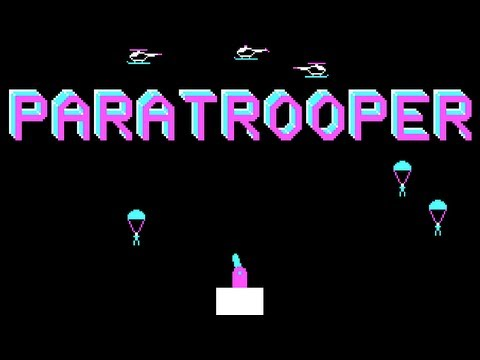 LGR - Paratrooper - PC Booter Game Review