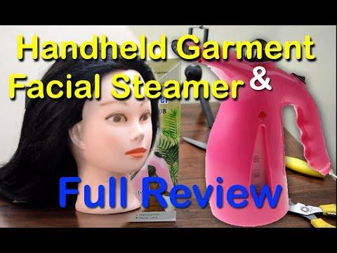 2 in 1 Handheld Garment Facial Steamer RZ 608