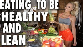 Eating Healthy & Burning Fat