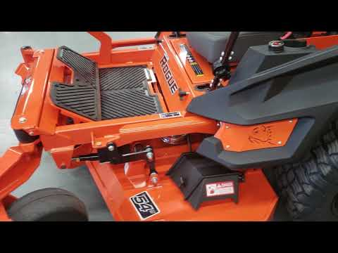 "2019 Bad Boy Mowers Rogue 54"" with 27hp Kawasaki in Saucier, Mississippi - Video 2"