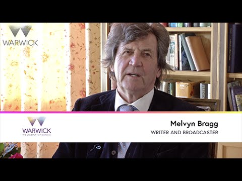 Discussing poetry and depression with Lord Melvyn Bragg
