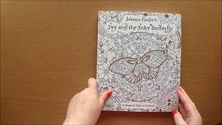 Ivy And The Inky Butterfly By Johanna Basford Colouring Storybook Flip Through