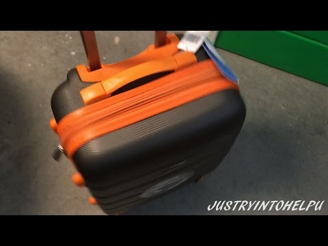 Rockland Melbourne 20-Inch Abs Carry On Luggage Review – Best Travel Suitcase – WATCH BEFORE YOU BUY
