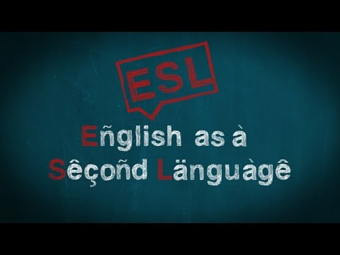 ESL -English as a Second Language (FULL PILOT)