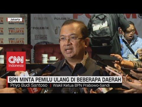 BPN Minta Pemilu Ulang di Beberapa Daerah