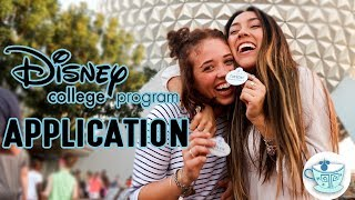 HOW TO *SUCCESSFULLY* APPLY TO THE DISNEY COLLEGE PROGRAM! | DCP TPARTY TIPS