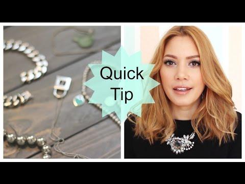 Silberschmuck reinigen | Quick Tip